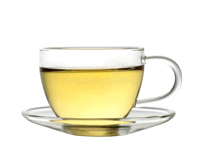 Cup grüner Tee stockfotos
