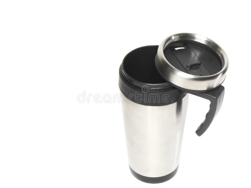 Download Cup With Heat Protection-thermos Coffee. Stock Image - Image: 22889349