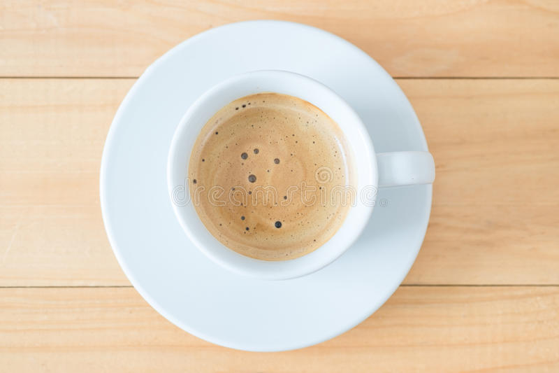 Cup heißes coffe stockfotos