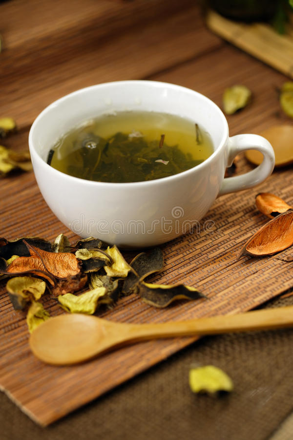 Download Cup of herbs stock image. Image of chinese, spoon, herb - 36893371