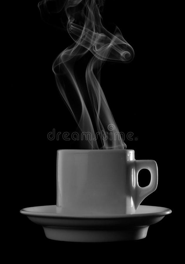 Download Cup of hot drink stock photo. Image of vapor, brewed, cofe - 6935874