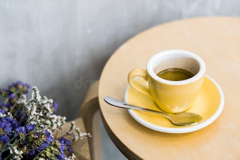 hot expresso coffee stock photos
