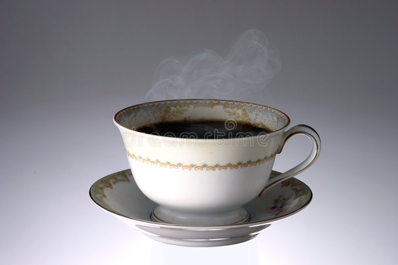 Download Cup Of Hot Steaming Coffee Royalty Free Stock Images - Image: 501459