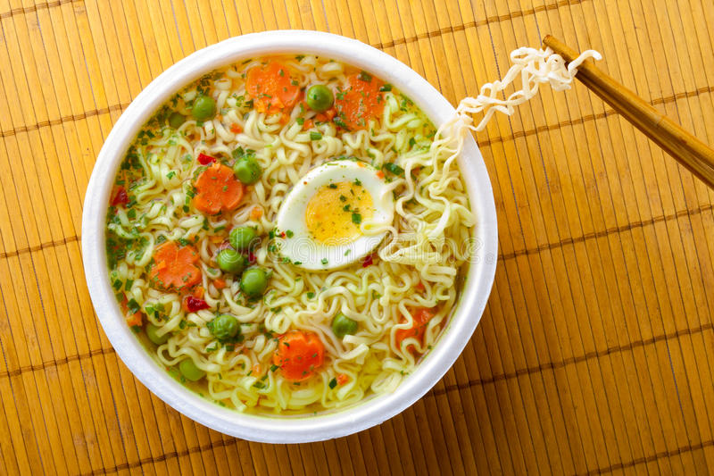 Download Cup of instant noodles stock image. Image of cooked, flavour - 21185887