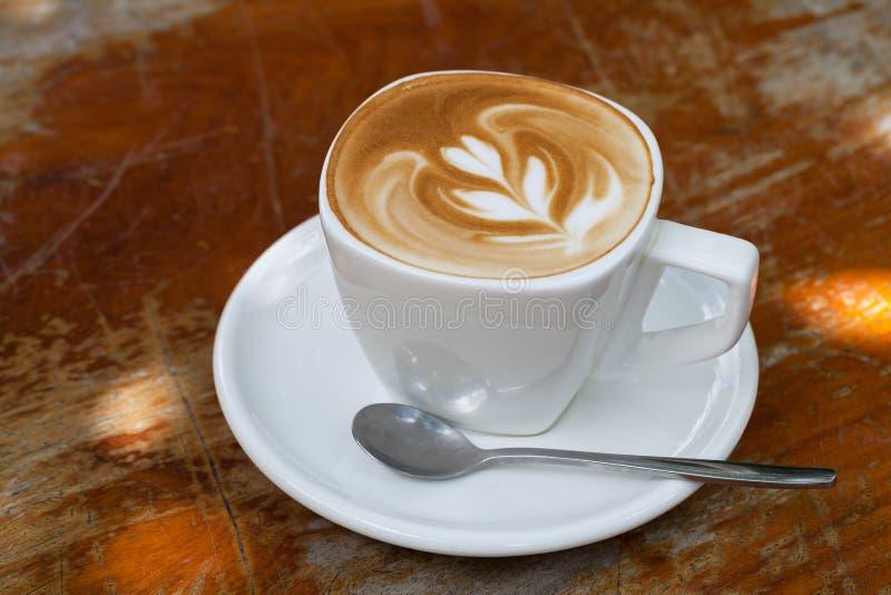 Cup latte Kaffee stockbilder
