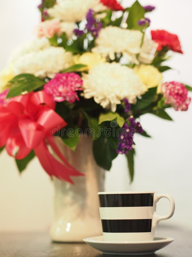 A cup of love royalty free stock photography