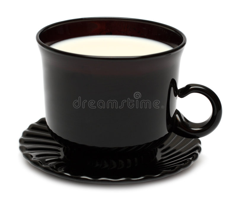 Download Cup of milk stock image. Image of white, drink, dishware - 4649399