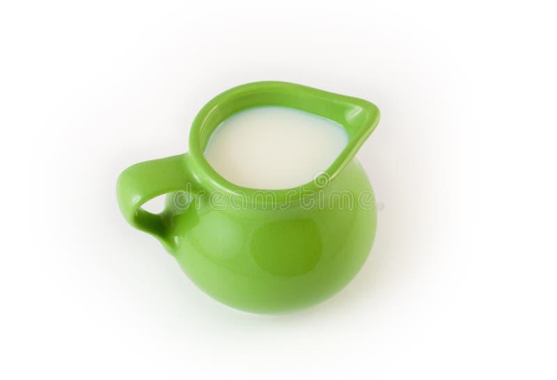 Cup of milk stock photo