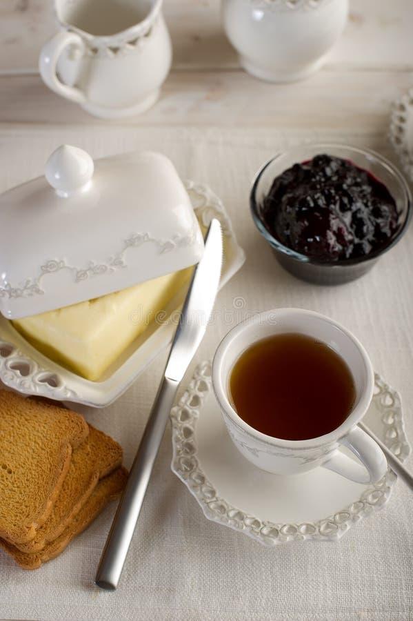 Cup mit englischem Tee stockbilder