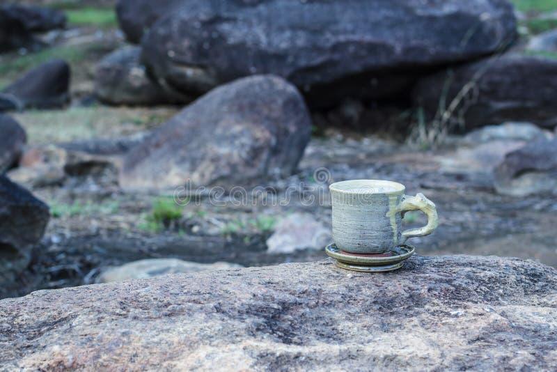 Cup Morgenkaffee stockbilder