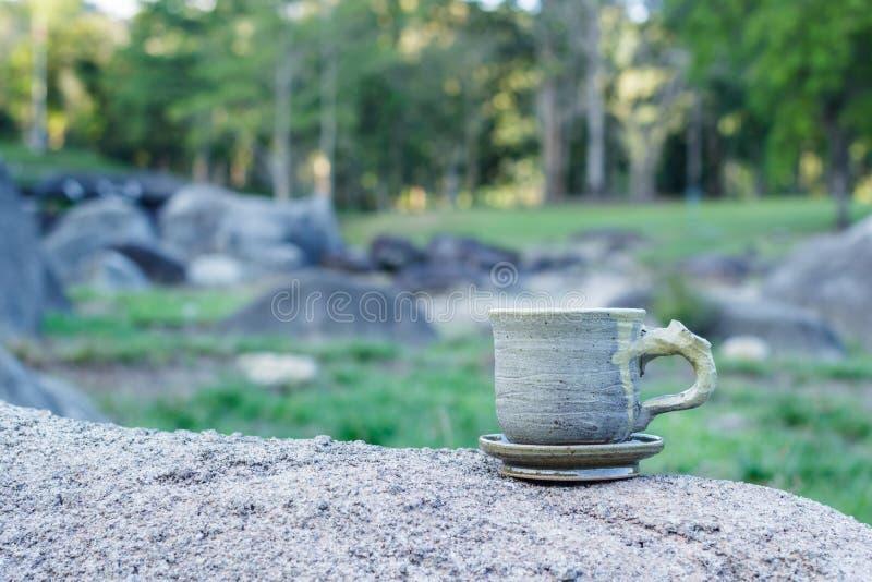 Cup Morgenkaffee lizenzfreies stockbild
