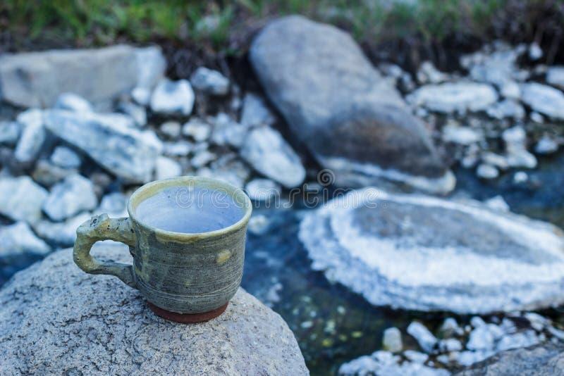 Cup Morgenkaffee stockbild