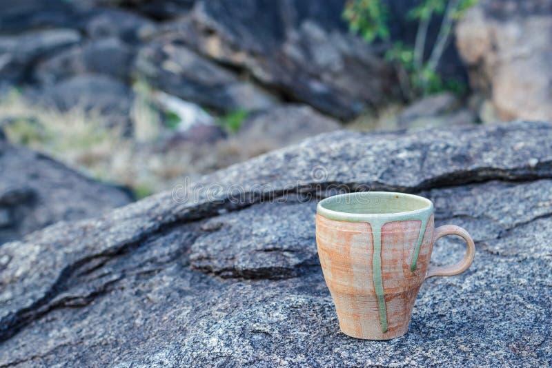 Cup Morgenkaffee stockfotos