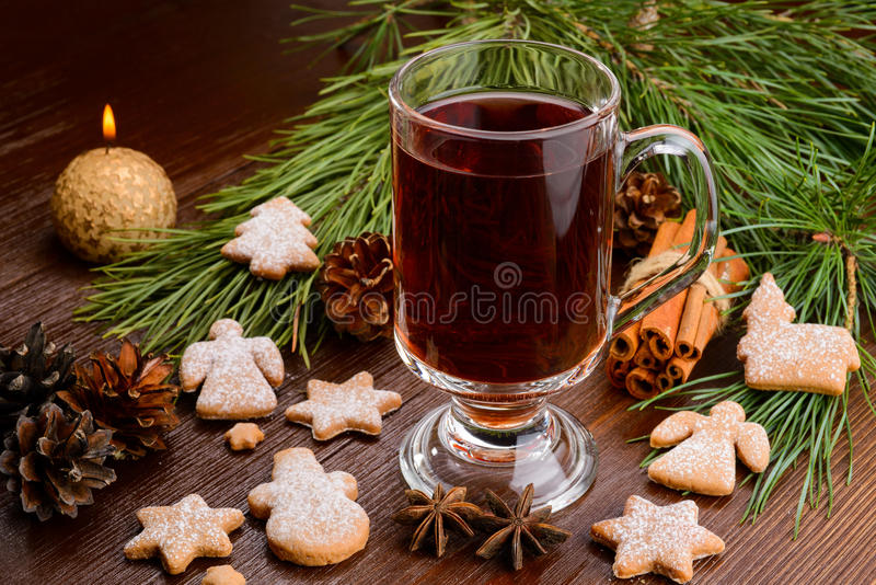 Cup of mulled wine