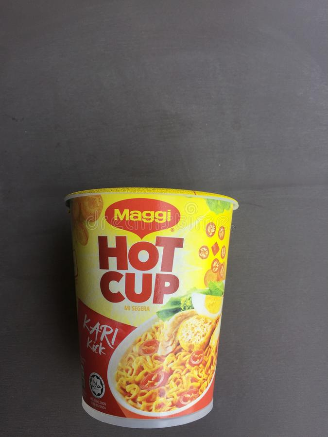 Cup Noodle royalty free stock photos