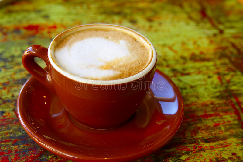 Download Cup o' coffee stock photo. Image of froth, cafe, creamy - 1417230