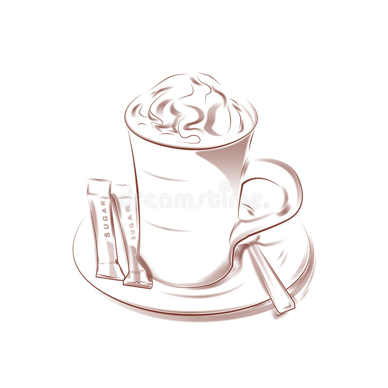 Free Cup Of Cappuccino Stock Photo - 14484440