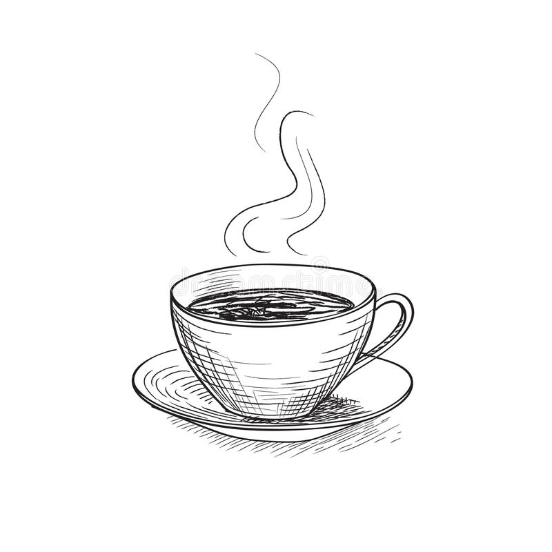 Free Cup Of Coffee. Coffee Break Icon. Royalty Free Stock Photography - 54901537
