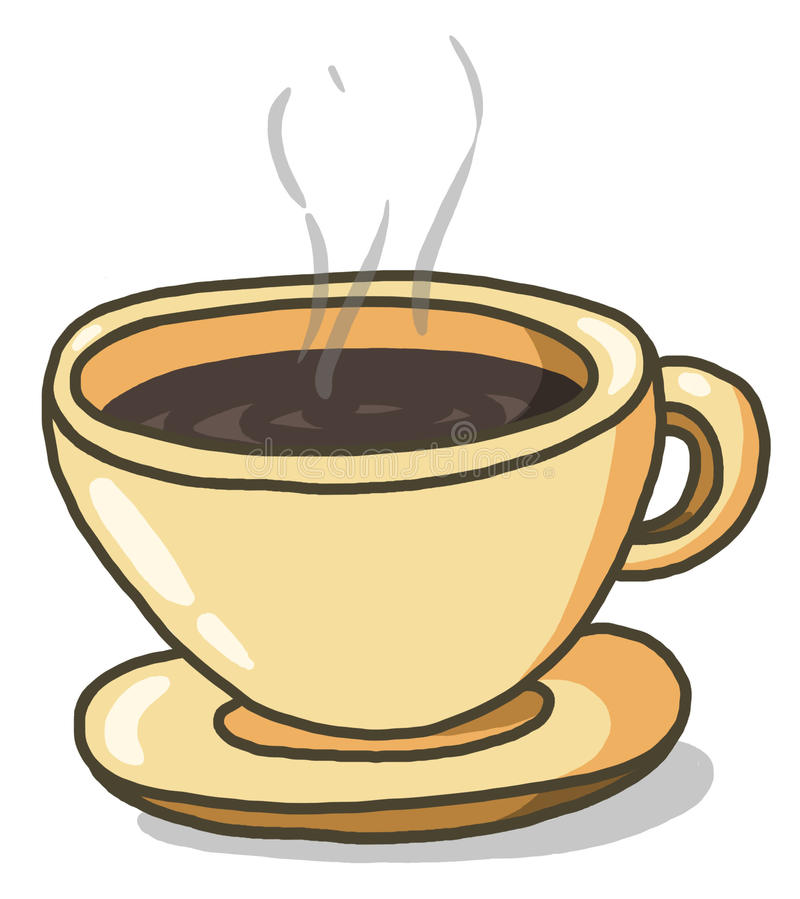 Free Cup Of Coffee Illustration Stock Image - 17716191