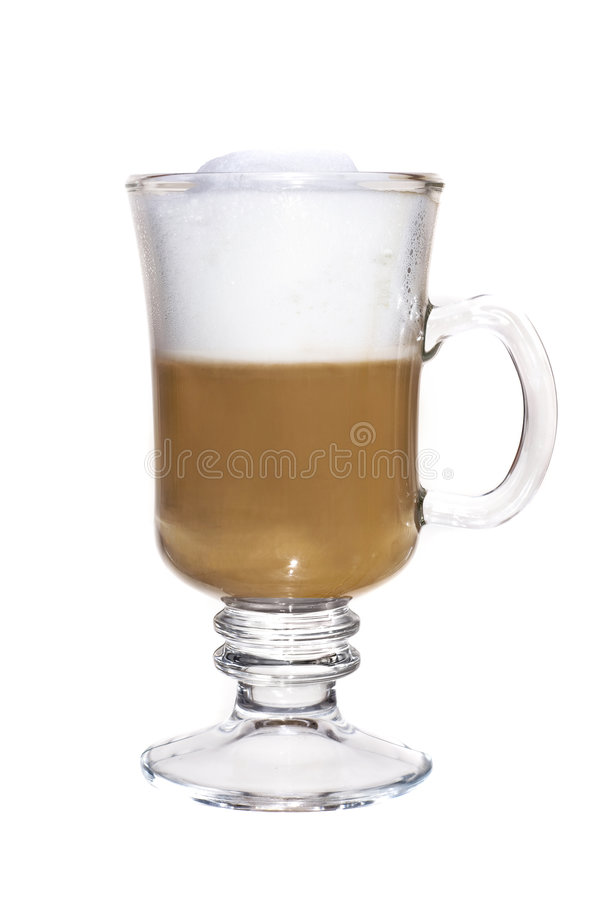 Free Cup Of Coffee With Milk. Royalty Free Stock Images - 8028959