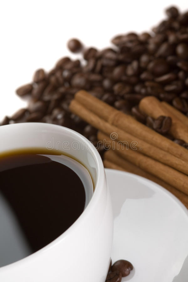 Free Cup Of Hot Coffee Stock Image - 19221801