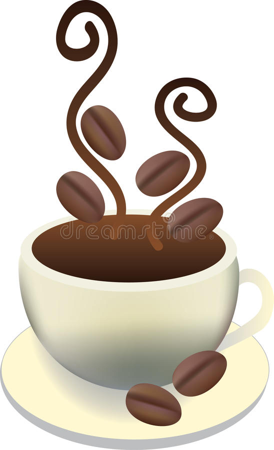 Free Cup Of Hot Fresh Coffee Royalty Free Stock Photos - 14930998