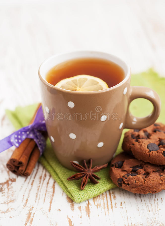 Free Cup Of Tea Royalty Free Stock Photo - 28758405