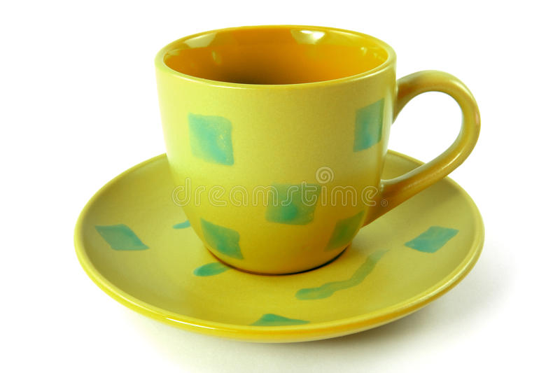Cup with plate
