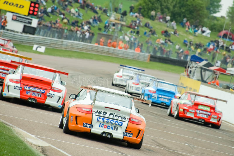 Cup Porsche-Carrera stockbilder