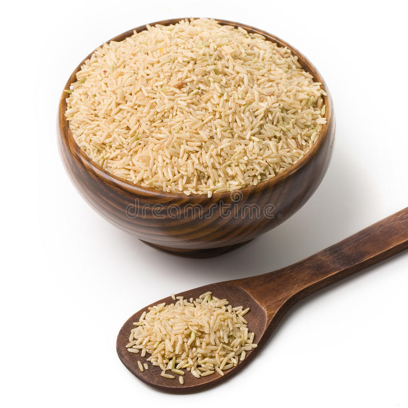Cup of rice royalty free stock image