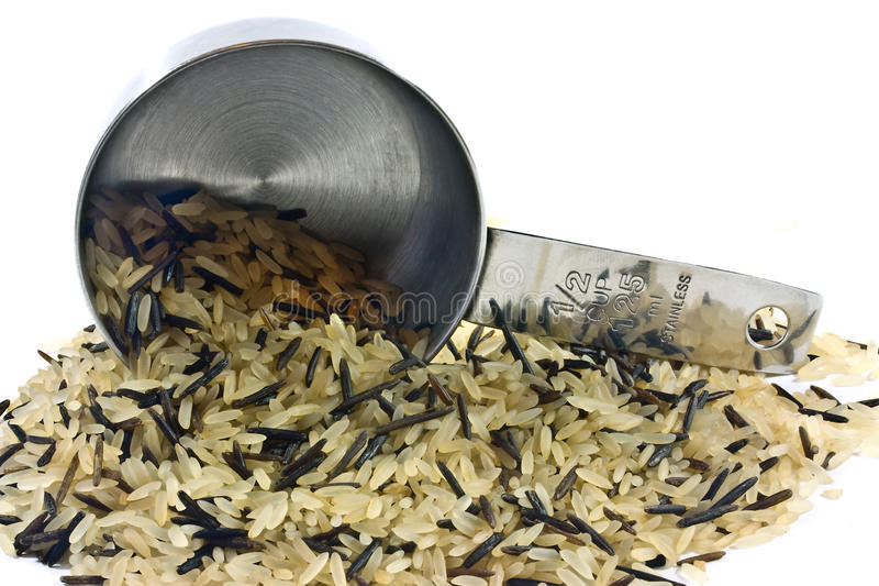 Download Wild and long grain rice stock photo. Image of closeup - 22116708