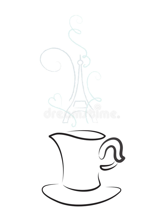 Download Cup with steam stock vector. Image of creativity, element - 13085744