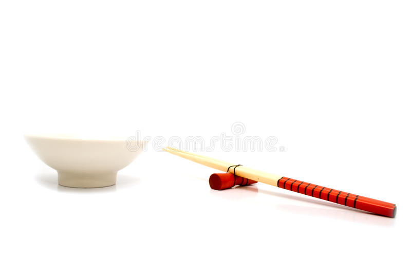 Cup And Sticks For A Meal Stock Image