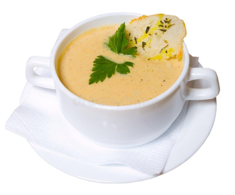 Cup Suppe lizenzfreie stockbilder