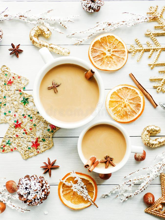 Sweet winter drink royalty free stock photography