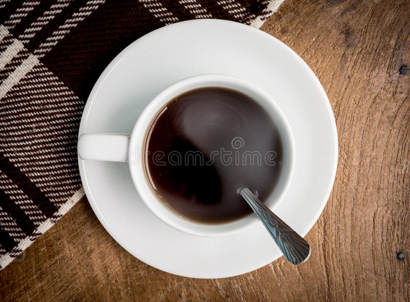 Cup on table royalty free stock images