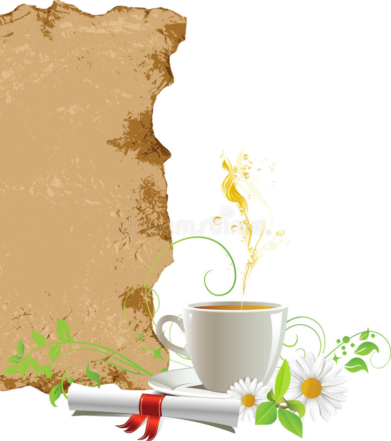 Download Cup With Tea. Stock Images - Image: 19294874