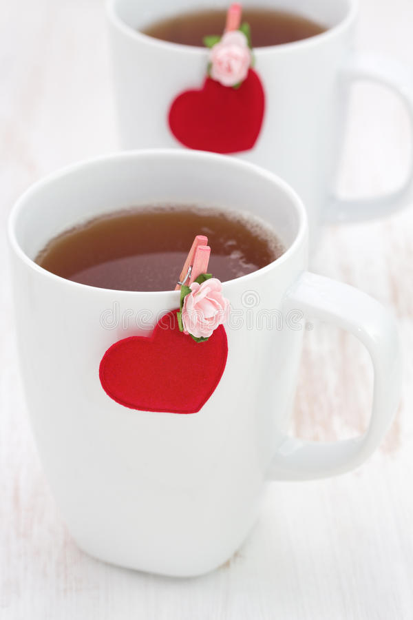 Download A cup of tea stock image. Image of brown, valentine, dinner - 28529055