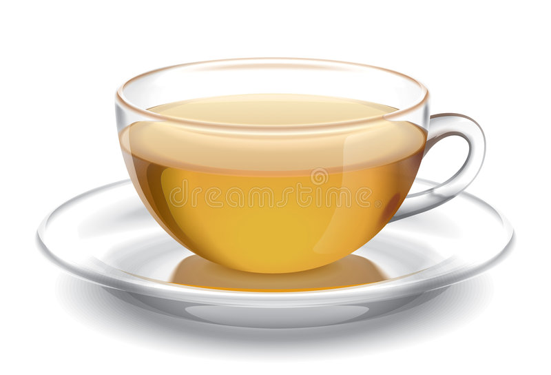 Cup Of Tea. Illustration. Stock Images