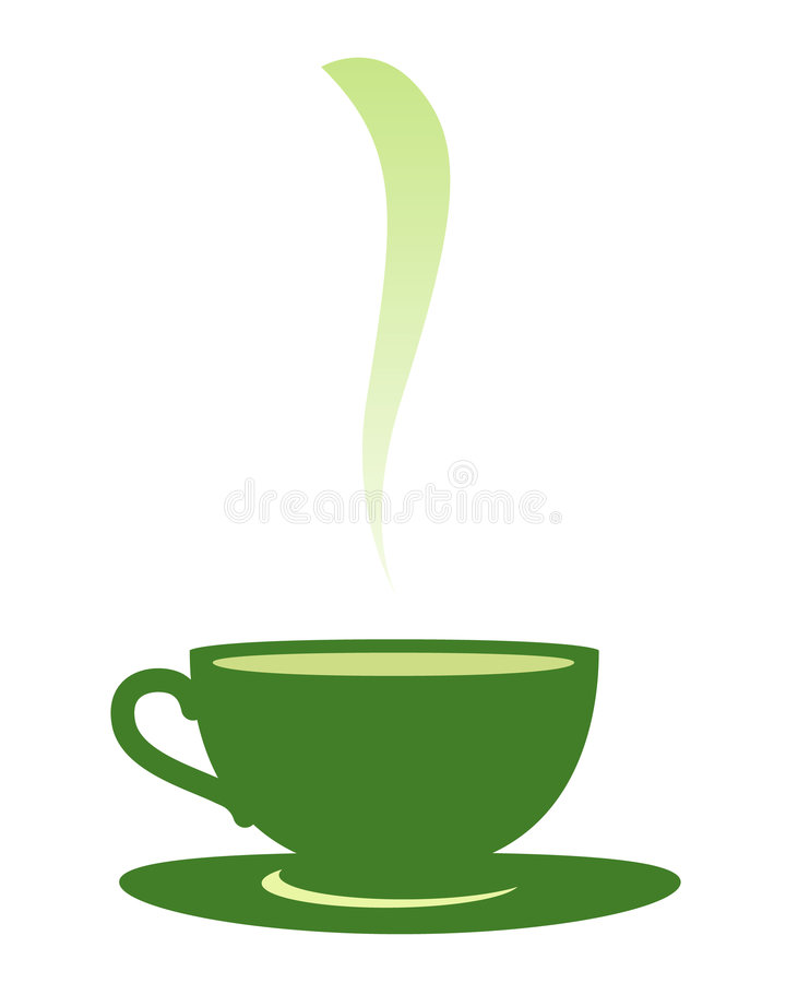 Download Cup with tea. stock vector. Illustration of colour, healthy - 9059161