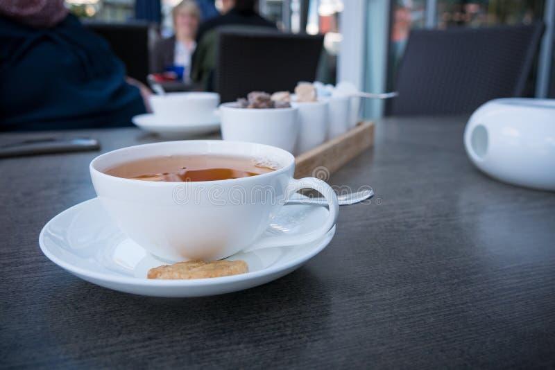 A cup of Ceylon Black Tea stock photos