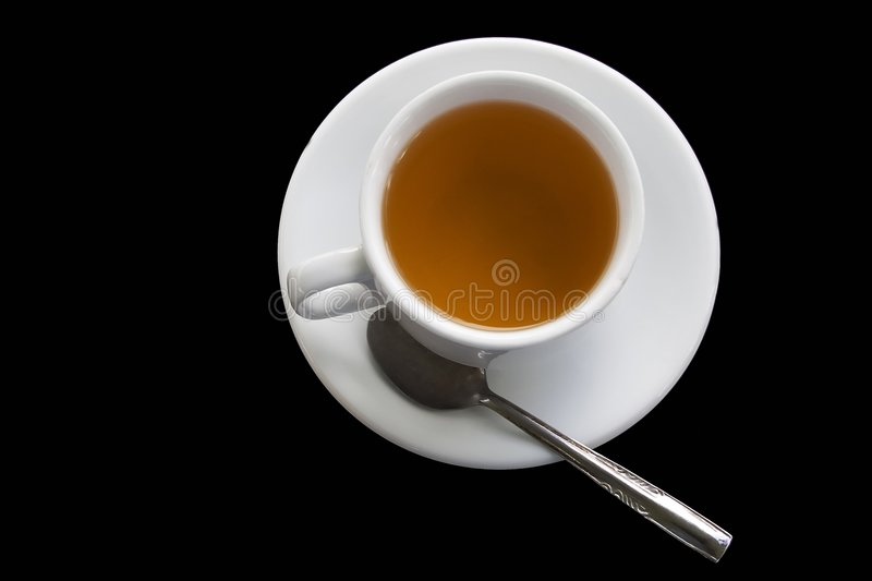 Cup of Tea or Coffee stock image
