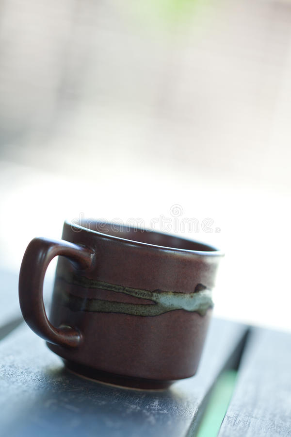 Cup of tea or coffee. Still life shot royalty free stock images