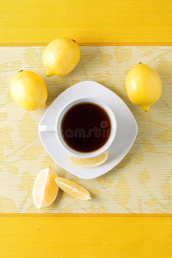 Cup of tea / coffee royalty free stock photos