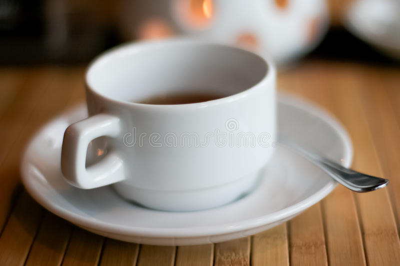 Cup of tea or coffee stock photo