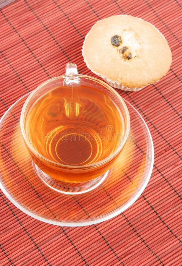 Download Cup of tea and fruitcake stock photo. Image of italian - 13299650