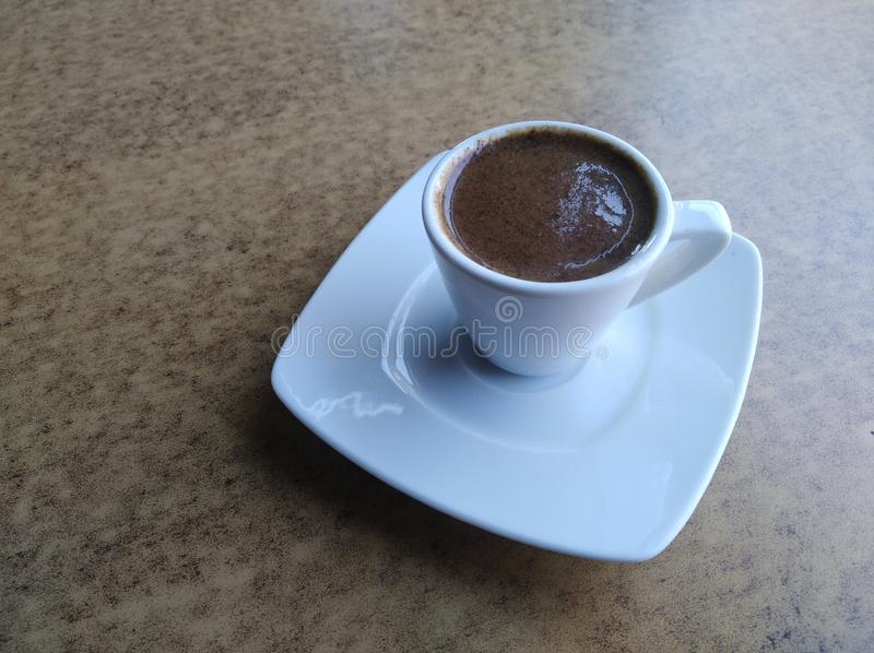 A Cup of Turkish Coffee stock photography