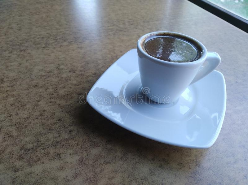 A Cup of Turkish Coffee stock photo