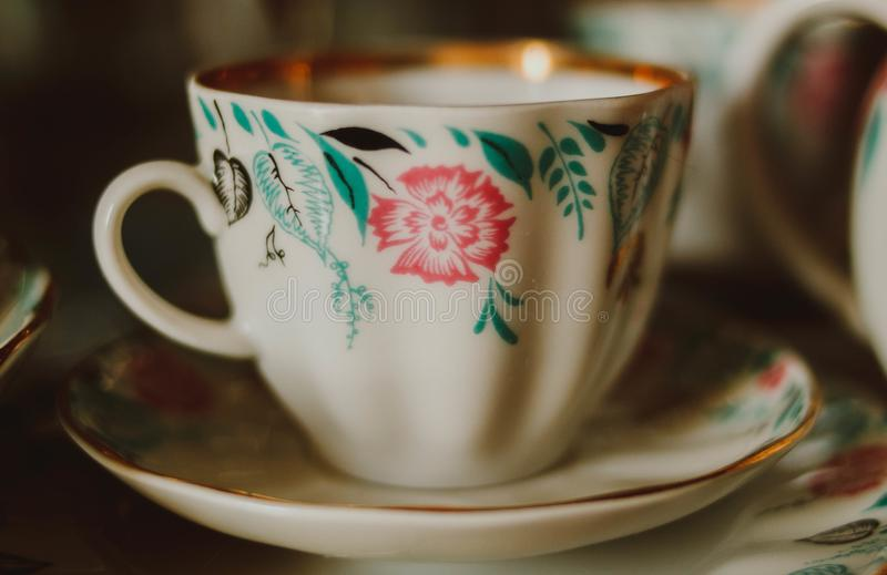 Cup of the USSR royalty free stock photography