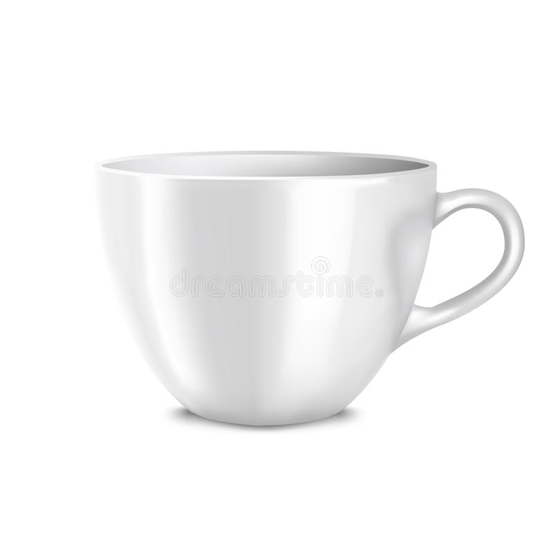 Download Cup stock vector. Image of bowl, close, object, up, nobody - 30626133